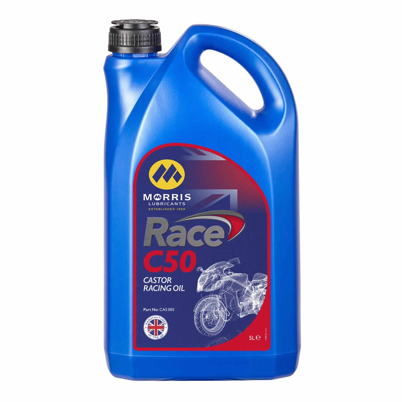 Race C50 (Formerly MLR 50 Castor Racing Oil)