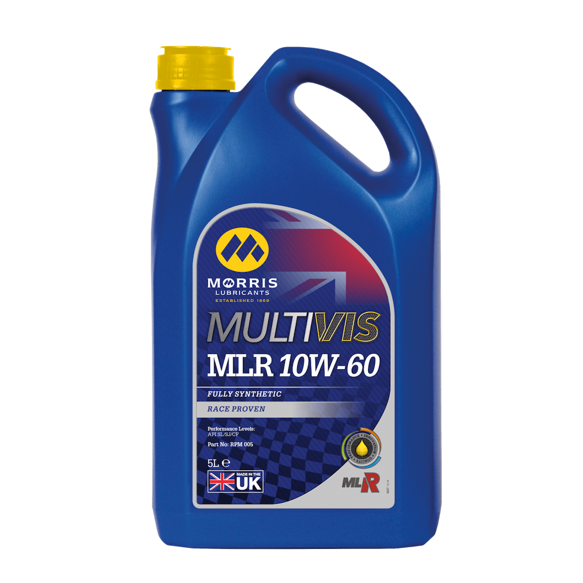 Multivis MLR 10W-60 (Previously X-RPM Competition 10W-60)