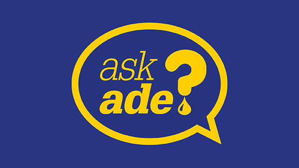 Ask Ade Technical Advice With Adrian Hill