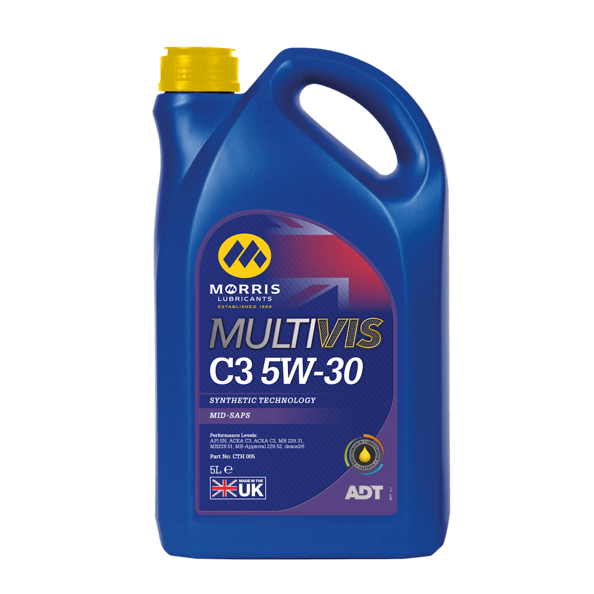 Multivis ADT C3 5W-30 (Previously Multilife C-THREE 5W-30)