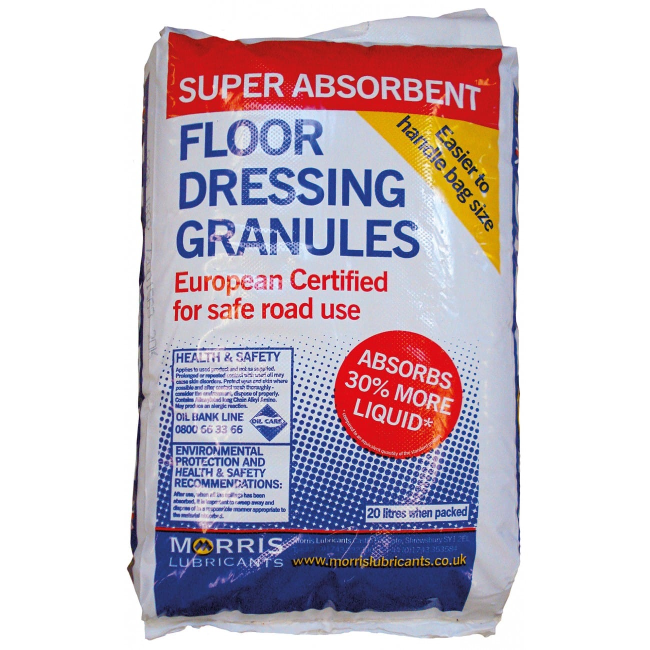 Super Absorbent Floor Dressing