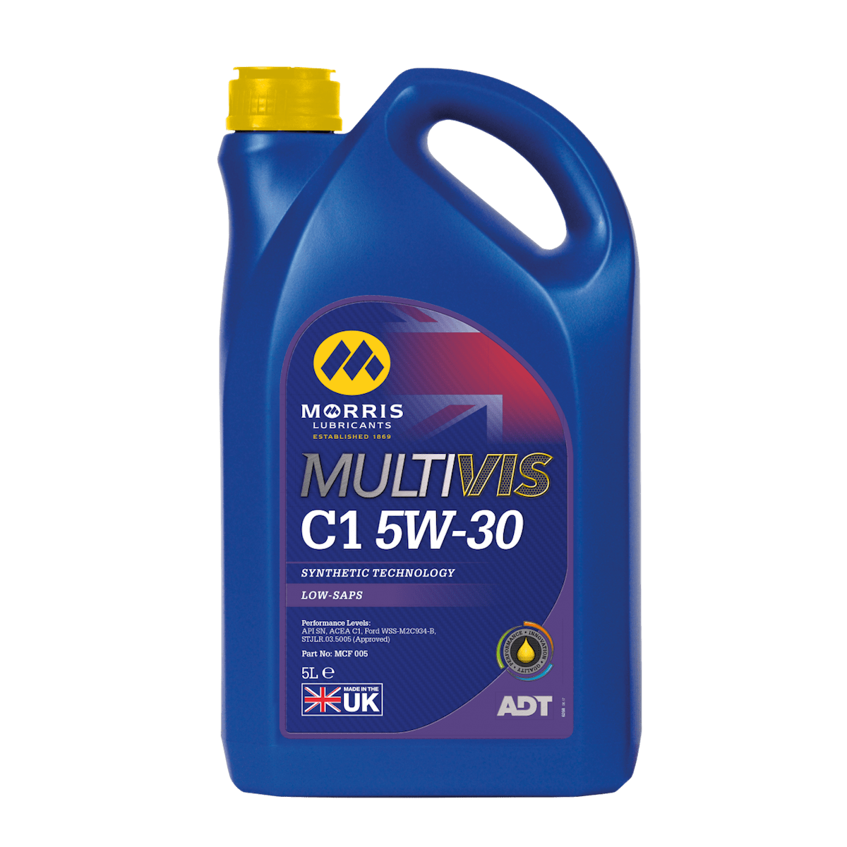 Multivis ADT C1 5W-30 (Previously Multilife C-ONE 5W-30)