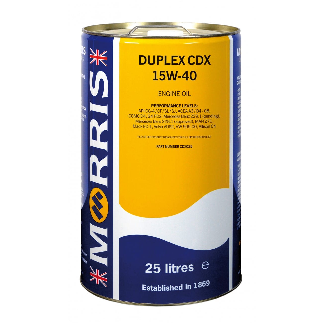 Duplex CDX 15W-40 Engine Oil