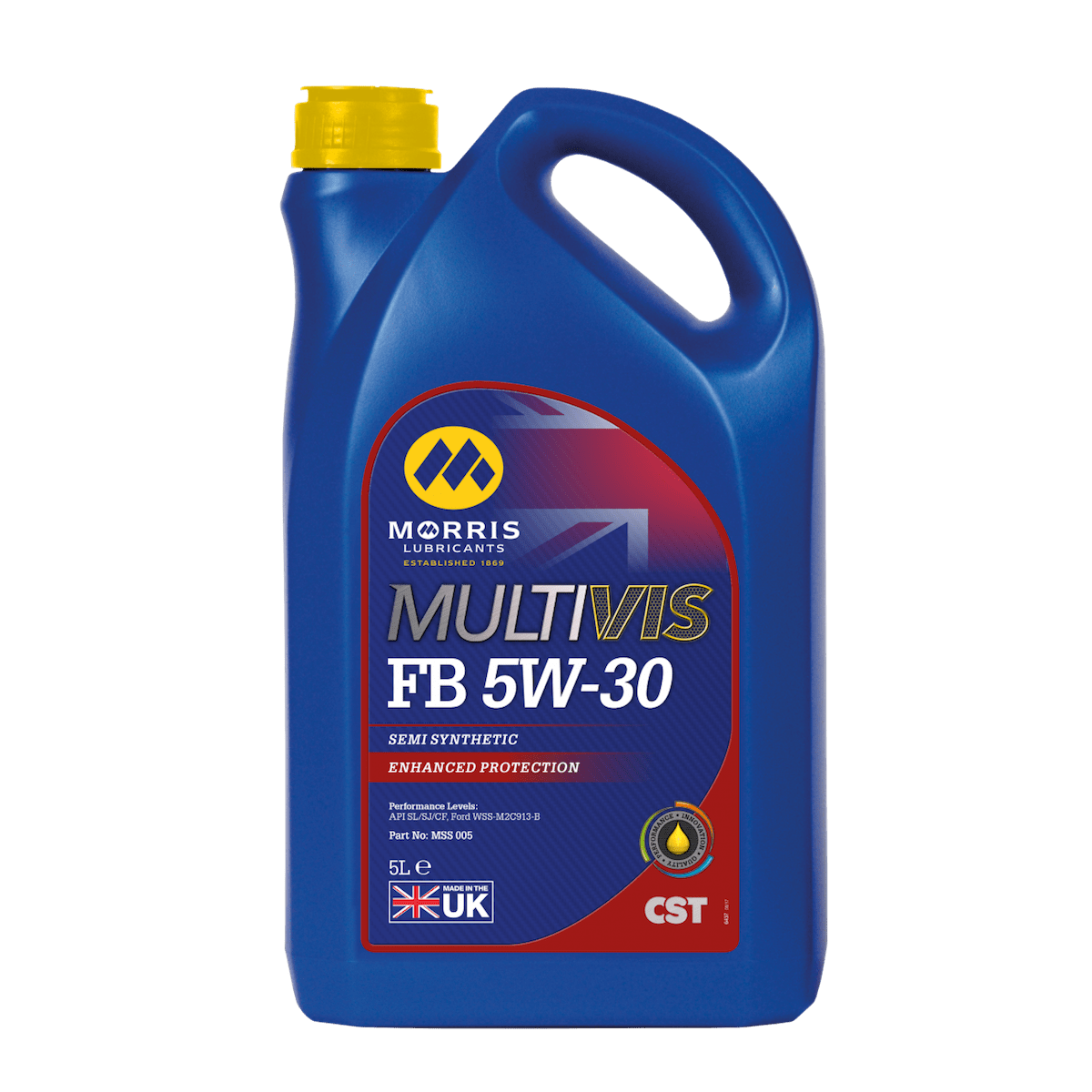 Multivis CST FB 5W-30 (Previously Multivis Semi Synthetic 5W-30)